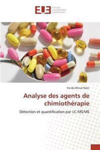 Analyse Des Agents de Chimiotherapie