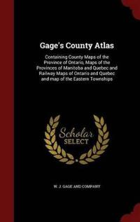 Gage's County Atlas