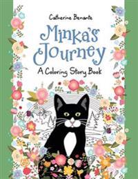 Minka's Journey: A Coloring Story Book