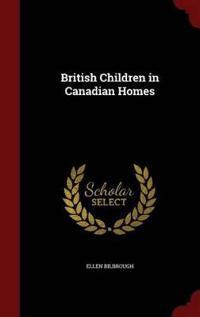 British Children in Canadian Homes