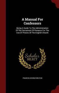 A Manual for Confessors