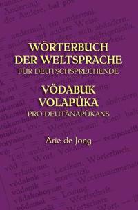Worterbuch Der Weltsprache Fur Deutschsprechende