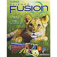 Houghton Mifflin Harcourt Science Fusion Florida: Student Edition Interactive Worktext Grade 1 2012