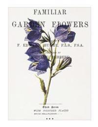 "Familiar Garden Flowers: Broad Bell-Flower: Decorative Notebook+journal (8.5"" X 11"")"