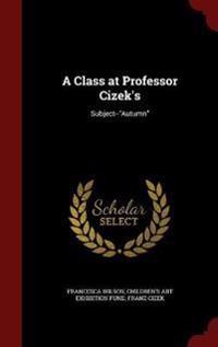 A Class at Professor Cizek's