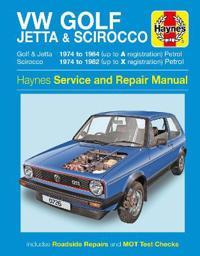VW Golf, Jetta & Scirocco Owner's Workshop Manual