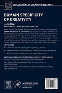 Domain Specificity of Creativity