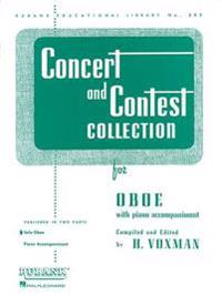 Concert and Contest Collection for Oboe: Solo Book Only
