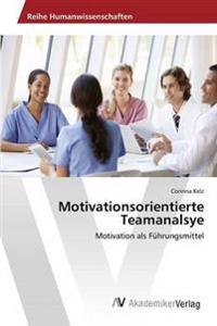 Motivationsorientierte Teamanalsye