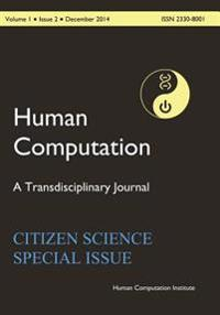 Hc2014-001-02: Human Computation, Volume 1, Issue 2