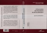 Evaluation des politiques de developpeme