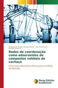 Redes de Coordenacao Como Adsorventes de Compostos Volateis de Cachaca