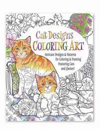 Cat Designs Coloring Art