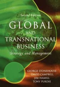Global and Transnational Business: Strategy and Management