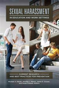 Sexual Harassment in Education and Work Settings