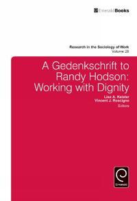 A Gedenkschrift to Randy Hodson