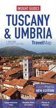 Insight Travel Map: Tuscany & Umbria