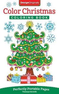 Color Christmas Adult Coloring Book