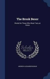 The Brook Besor