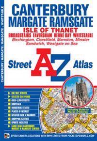 Canterbury, Margate, RamsgateWhitstable Street Atlas