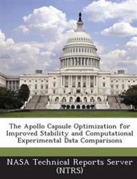 The Apollo Capsule Optimization for Improved Stability and Computational Experimental Data Comparisons