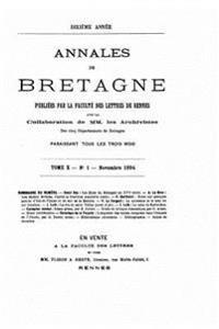 Annales de Bretagne - Tome X (1894)