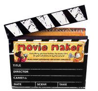 Movie Maker [With Special Effects Sticker Sheet and Clapper-Board Box, Press-Out Props, Storyboard Pad and CD (