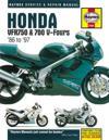 Haynes Honda VFR750 & 700 V-Fours '86 to '97 Service and Repair Manual