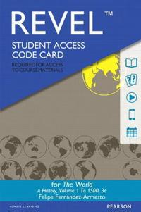 Revel for the World: A History, Volume One -- Access Code Card