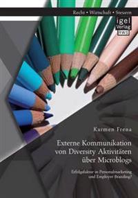 Externe Kommunikation Von Diversity Aktivitaten Uber Microblogs