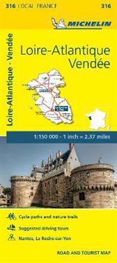 Michelin Local France Loire-Atlantique, Vendée