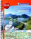 Tyskland Österrike Schweiz 2016 Atlas Michelin : Varierande skalor