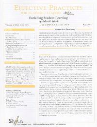 Enriching Student Learning: Issue 7