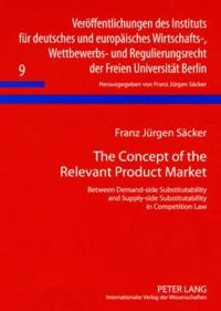The Concept of the Relevant Product Market: Between Demand-Side Substitutability and Supply-Side Substitutability in Competition Law
