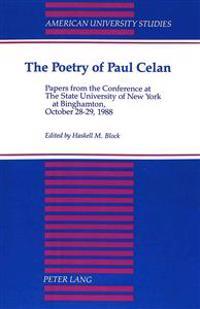 The Poetry of Paul Celan