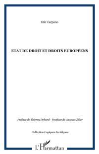 Etat de droit et droits europeens