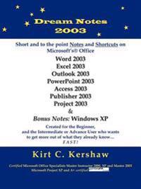 Dream Notes 2003