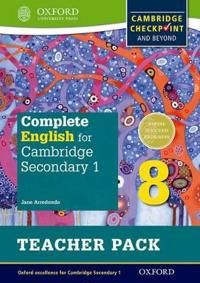 Complete English for Cambridge Lower Secondary Teacher Pack 8 - Jane Arrödondo - böcker (9780198364726)     Bokhandel