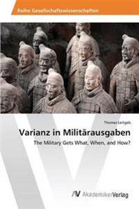 Varianz in Militarausgaben