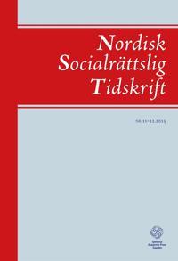 Nordisk Socialrättslig Tidskrift 11-12, 2015