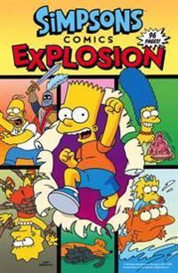 Simpsons Comics - Explosion