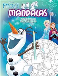 Frost. Mandalas : inspirerande och kreativ målarbok