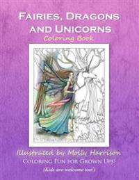 Fairies, Dragons and Unicorns: By Molly Harrison Fantasy Art