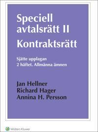 Speciell avtalsrätt II : kontraktsrätt. H.2, Allmänna ämnen