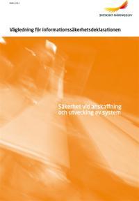 Vägledning för informationssäkerhetsdeklarationen
