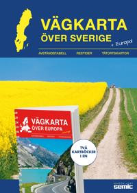 Vägkarta över Sverige / Europa
