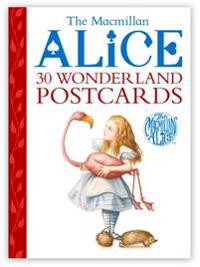 The Macmillan Alice 30 Wonderland Postcards