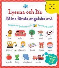 Lyssna & lär : mina första engelska ord