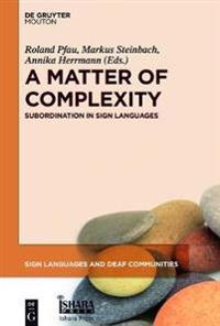 A Matter of Complexity