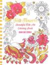 Folk Flowers: Beautiful Folk Art Coloring Book